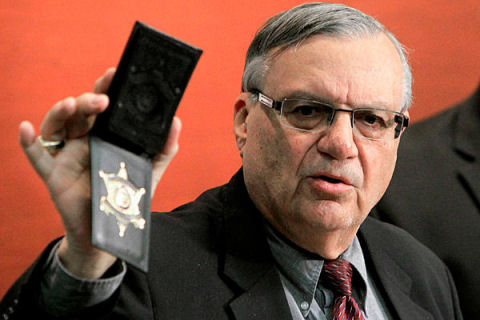Is sheriff Joe next???
